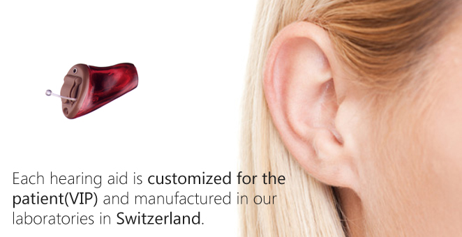 Customized VIP Hearing Aids